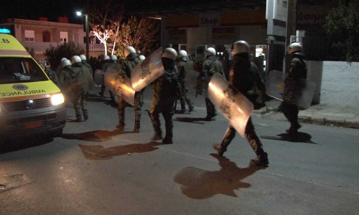 Χίος: Νύχτα επεισοδίων μεταξύ προσφύγων - 10 προσαγωγές