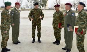 Επίσκεψη Αρχηγού ΓΕΣ στην 1η Ταξιαρχία Αεροπορίας Στρατού