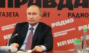Путин: РФ готова передать Украине десятки военных кораблей и самолетов