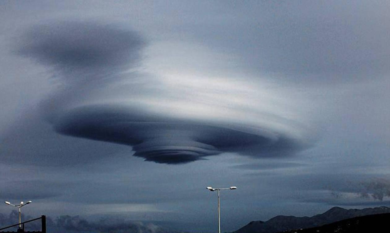Απίστευτες εικόνες στην Κρήτη: Δείτε τι εμφανίστηκε στον ουρανό του Ρεθύμνου (pics)
