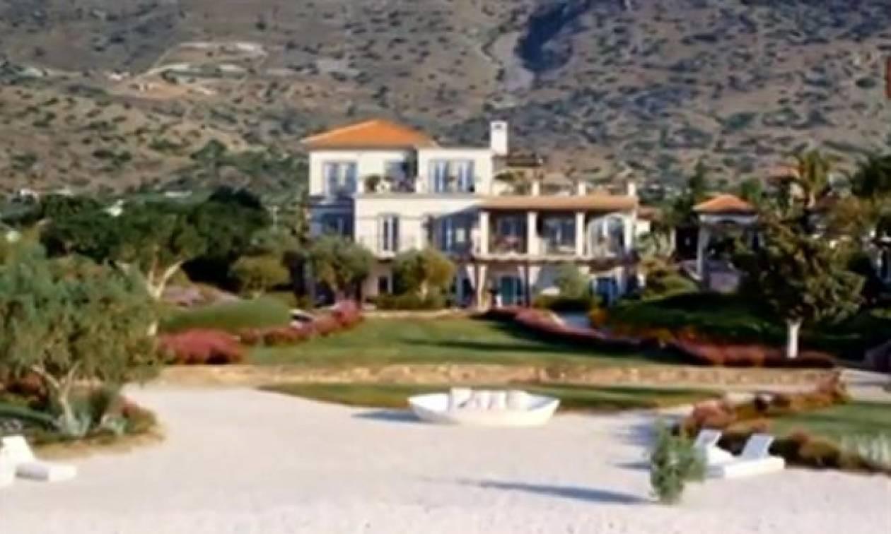 Βίλες, χλιδή και πολυτέλεια εκατομμυρίων στην Κρήτη (video)