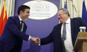 FM Kotzias and Dimitrov focused on the advancement of bilateral relations and cooperation