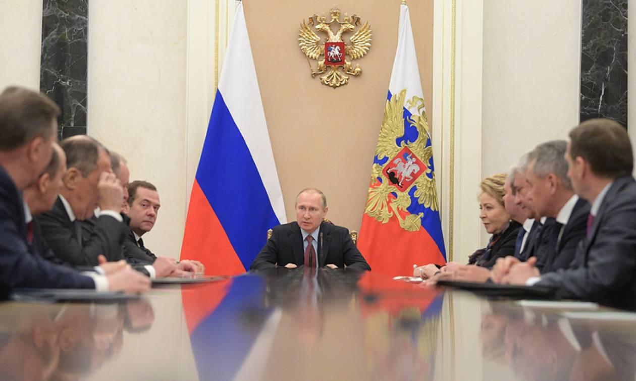 Путин обсудил с СБ РФ подготовку к конгрессу нацдиалога Сирии и ситуацию вокруг КНДР