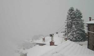 Καιρός: Χιονιάς σαρώνει τη βόρεια Ελλάδα - Προσοχή! Έρχονται και στην Αττική έντονα φαινόμενα