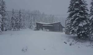 Καιρός: Μαγευτικές εικόνες από τη χιονισμένη Ελλάδα