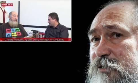 Τζίμης Πανούσης: Η συγκλονιστική συνέντευξη που είχε παραχωρήσει στο Newsbomb.gr