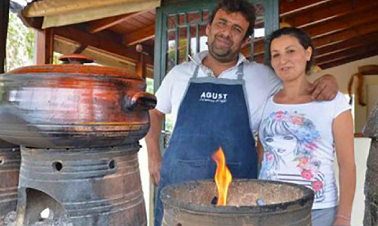 Κρητική ταβέρνα μαγειρεύει χωρίς ρεύμα τους πιο εκλεκτούς μεζέδες του νησιού!