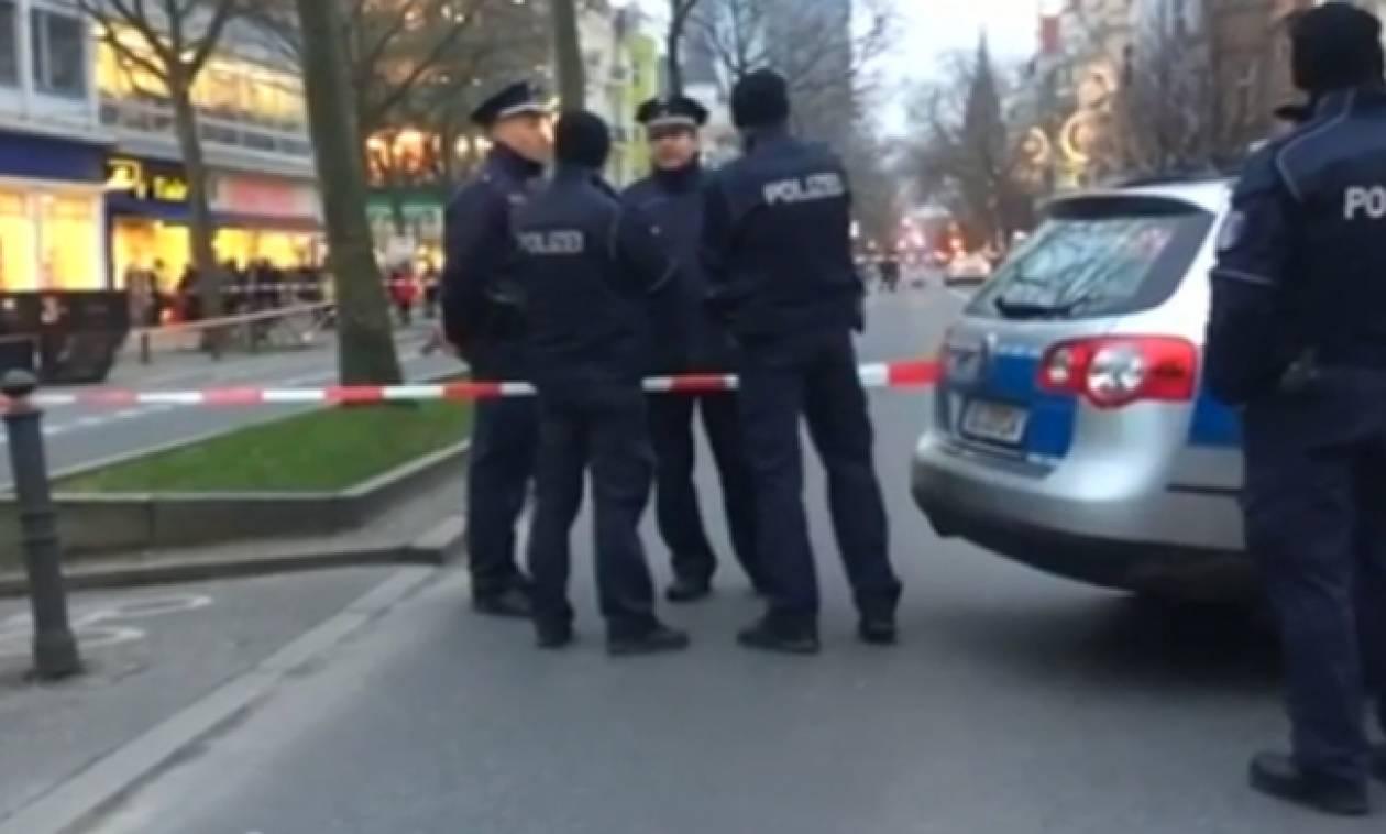 Άδεια τελικά η βαλίτσα που προκάλεσε πανικό στο κέντρο του Βερολίνου