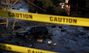 HΠΑ: Τους 19 έφτασε ο αριθμός των νεκρών από την κατολίσθηση λάσπης στην Καλιφόρνια