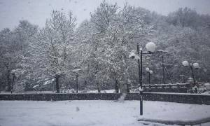 Καιρός ΤΩΡΑ: Ισχυρή κακοκαιρία με χιόνια σαρώνει τη χώρα – Ποιοι δρόμοι είναι κλειστοί