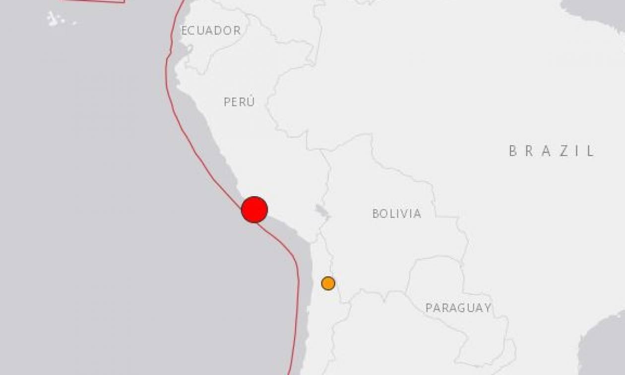Ισχυρή σεισμική δόνηση ταρακούνησε το Περού - Συναγερμός για τσουνάμι