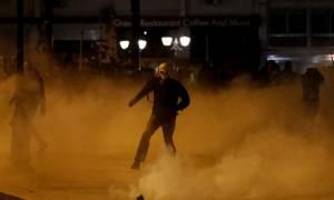 Πεδίο «μάχης» και πάλι το κέντρο της Αθήνας - Συνελήφθη ανήλικος
