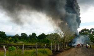Κολομβία: Έκρηξη σε πετρελαιαγωγό - Ο στρατός κατηγορεί τον ELN