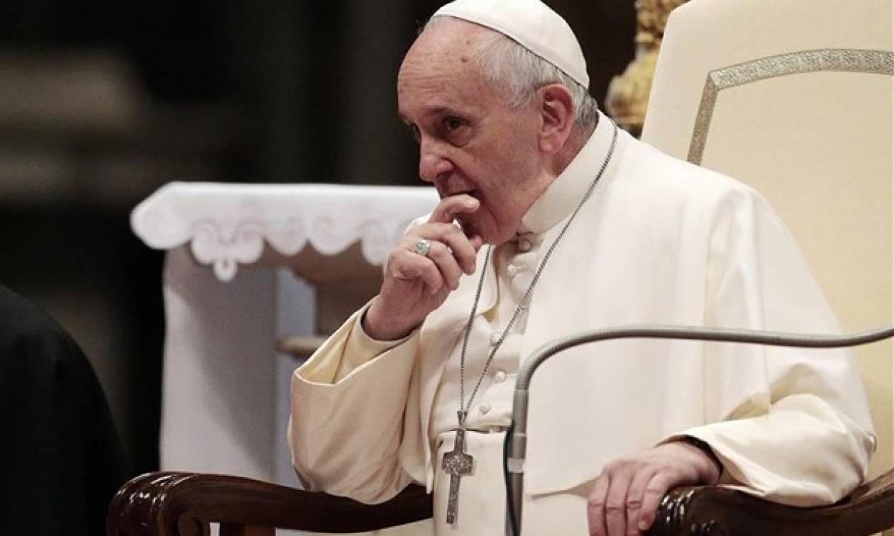 Πάπας Φραγκίσκος: Φοβάμαι τον κίνδυνο πολέμου
