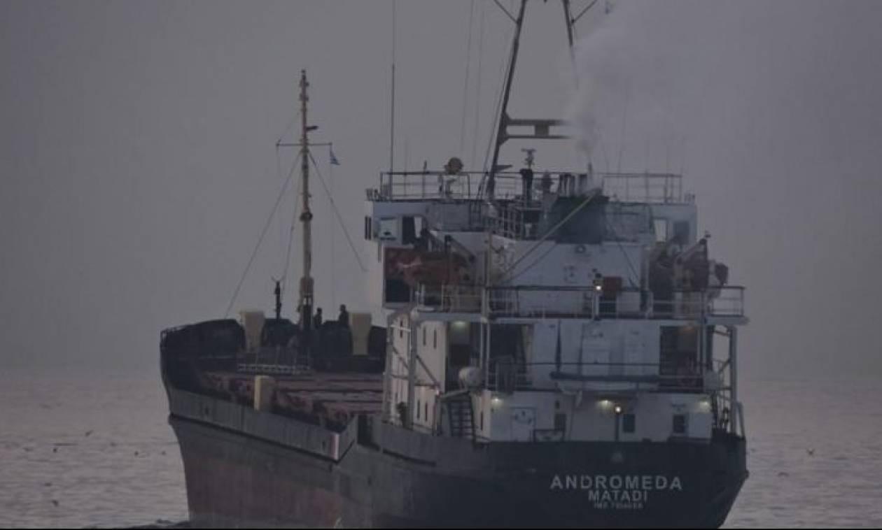 Ηράκλειο: Απομάκρυνoνται οι 410 τόνων εκρηκτικών του «Andromeda» - Πού θα μεταφερθούν