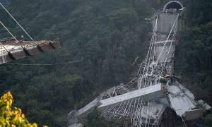 Τραγωδία στην Κολομβία: Τουλάχιστον δέκα νεκροί από κατάρρευση γέφυρας - Συγκλονιστικές εικόνες