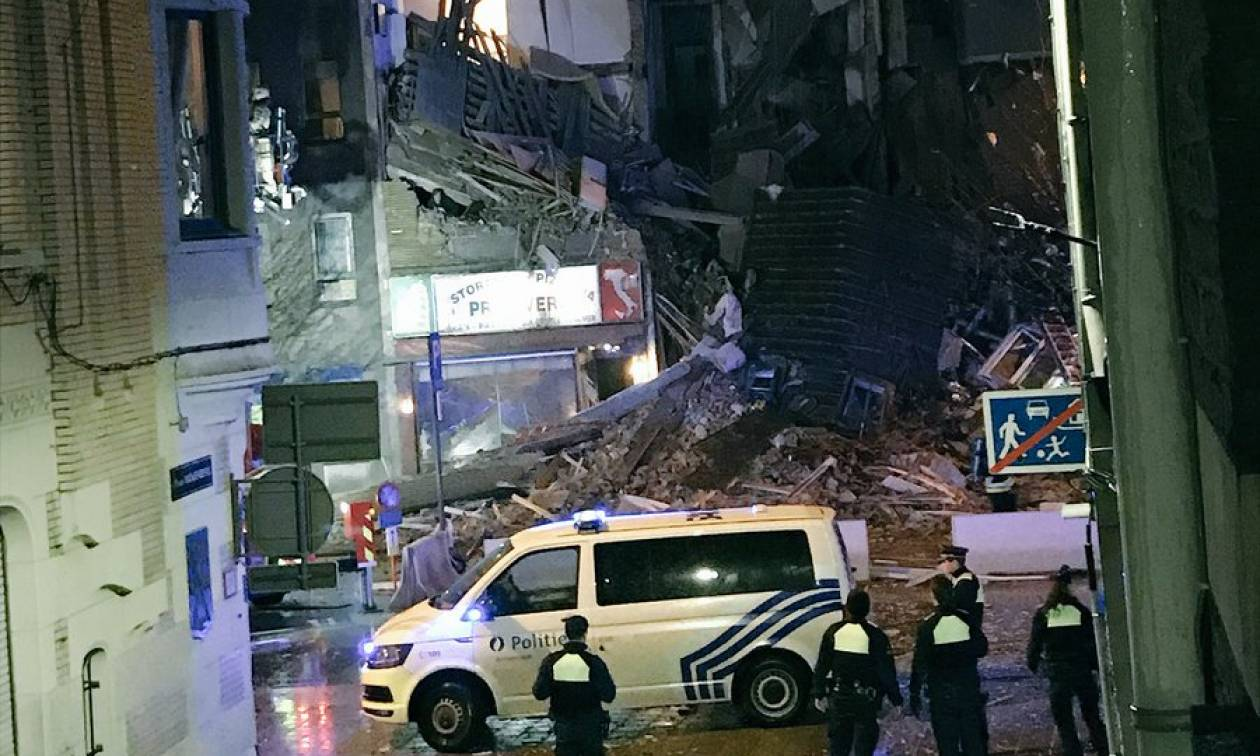 Βέλγιο: Τουλάχιστον δύο νεκροί από την ισχυρή έκρηξη σε πολυκατοικία στην Αμβέρσα (Pics+Vid)