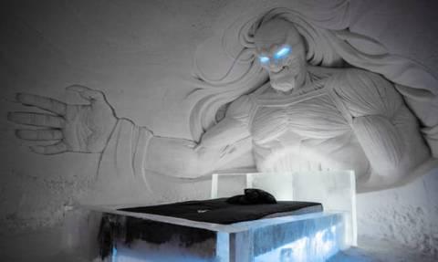 Ένας «παράδεισος» από πάγο άνοιξε στη Λαπωνία για τους λάτρεις του Game of Thrones (pics)