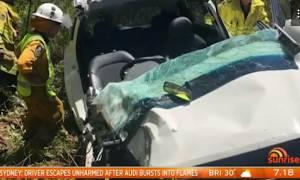 Αυστραλία: Πώς το ένστικτο ενός πατέρα έσωσε το γιο του από βέβαιο θάνατο