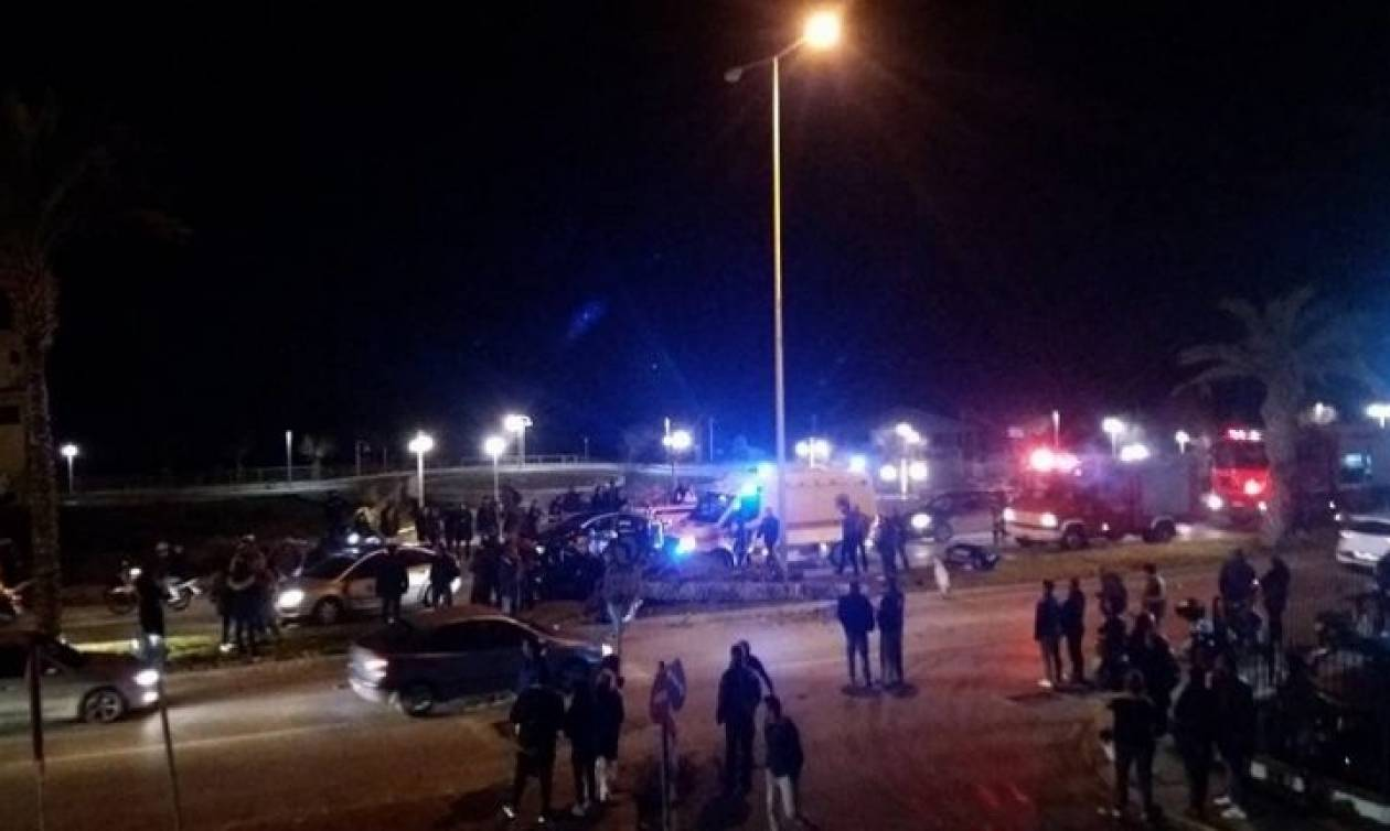 Νέο σοβαρό τροχαίο στο Ηράκλειο: Σε σοβαρή κατάσταση 26χρονος πολυτραυματίας (pics)