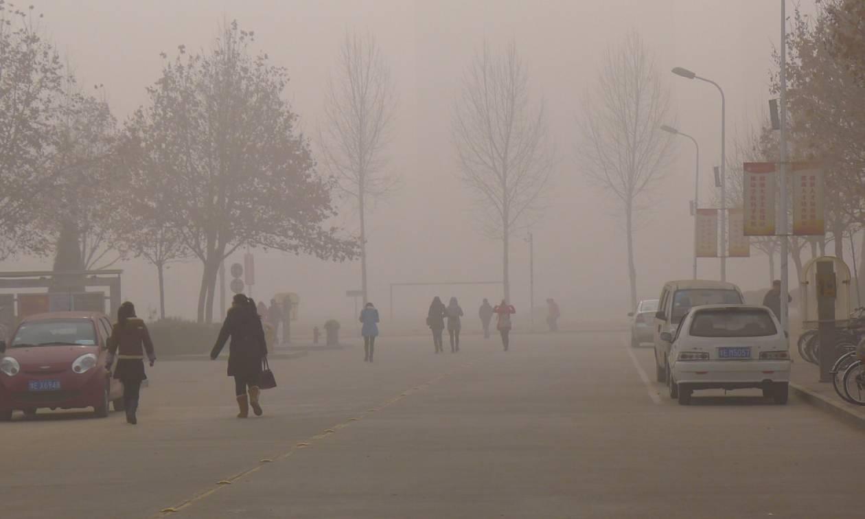 Κίνα: Πορτοκαλί συναγερμός από το νέφος στην επαρχία Χενάν