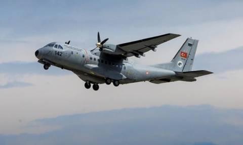 Συνετρίβη τουρκικό στρατιωτικό αεροσκάφος - Τρεις νεκροί