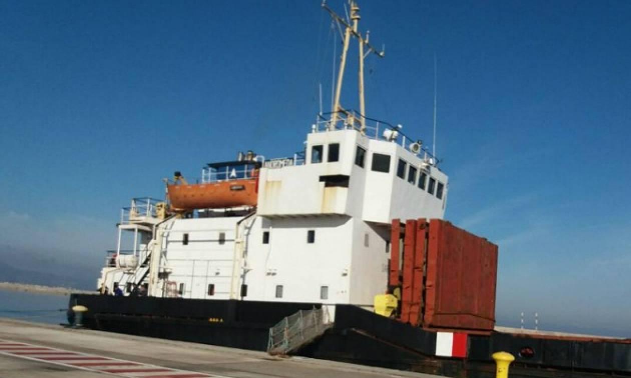 Στη Θεσσαλονίκη μεταφέρονται οι 410 κατασχεμένοι τόνοι εκρηκτικών υλών του «ANDROMEDA»