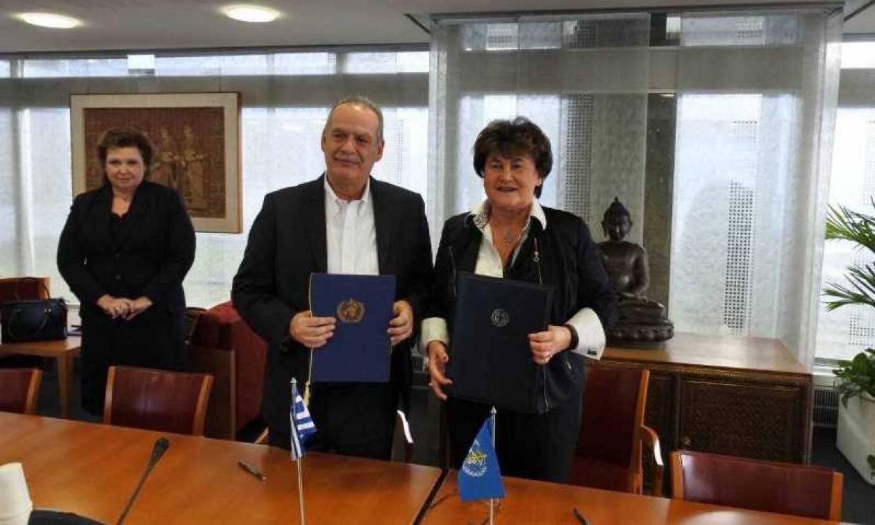 Υπεγράφη η συμφωνία για το γραφείο του Παγκόσμιου Οργανισμού Υγείας στην Αθήνα