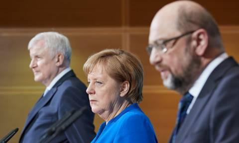Μέρκελ: Μη διαπραγματεύσιμα τα βασικά σημεία της συμφωνίας με τους Σοσιαλδημοκράτες