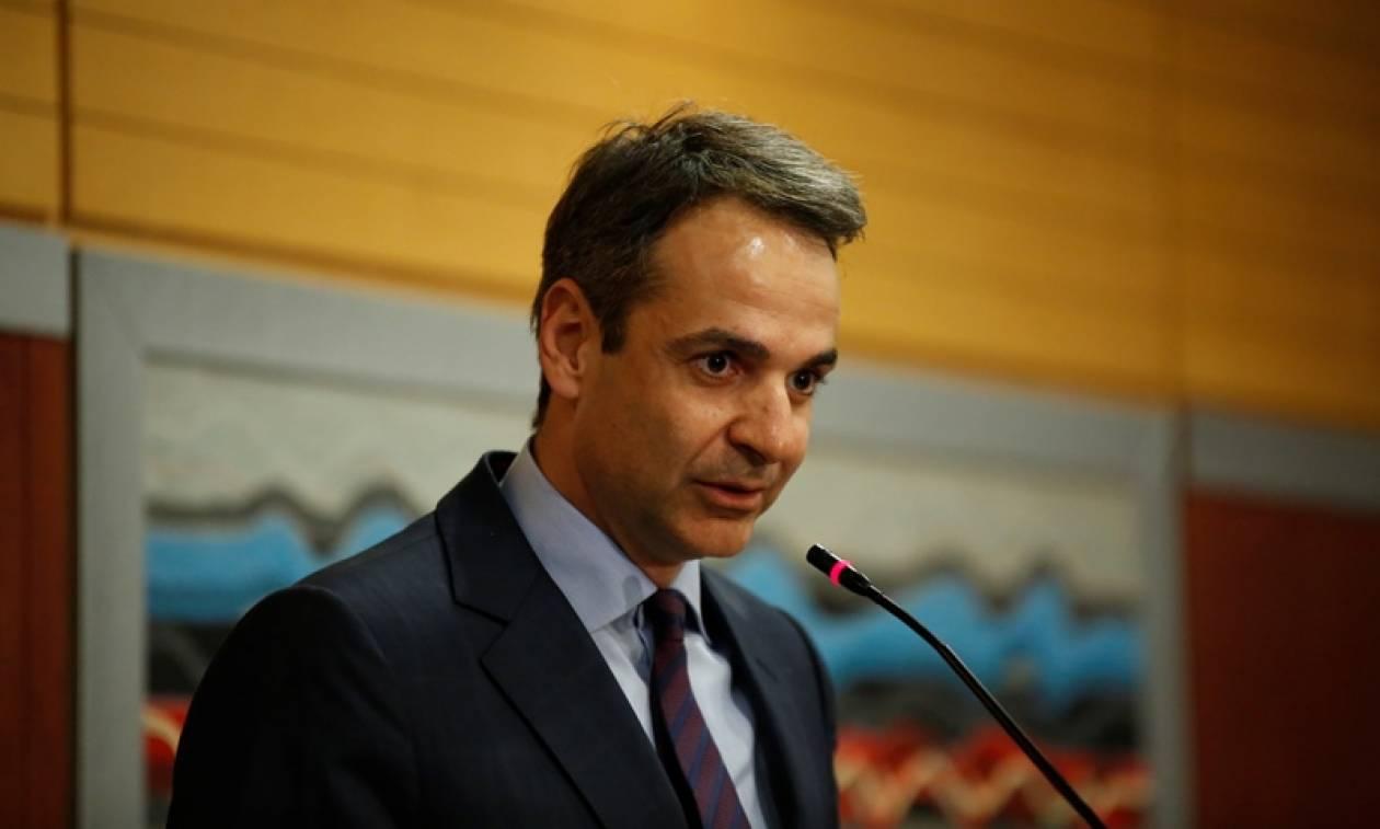Μητσοτάκης σε ΕΒΕΑ: Στόχος της ΝΔ η μείωση φορολογίας και η επιτάχυνση των μεταρρυθμίσεων