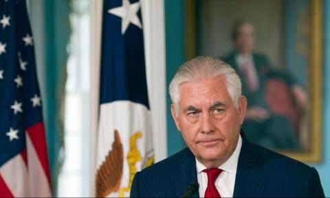 Τίλερσον: Ο στρατός θα παραμείνει στη Συρία για να αντιμετωπίσει το ΙΚ, το Ιράν και τον Άσαντ