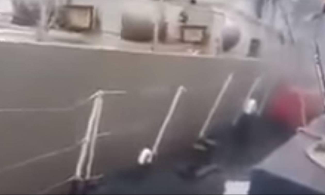 Βίντεο ντοκουμέντο: Δείτε πώς η τουρκική ακταιωρός συγκρούεται με την κανονιοφόρο «Νικηφόρος» (vid)
