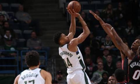 NBA: Έκαψαν… το Μιλγουόκι οι Χιτ (pics+vid)