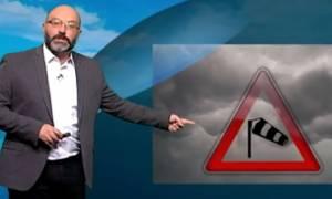 Καιρός! Η ανάλυση του Σάκη Αρναούτογλου για τους ανέμους. Πού έφτασαν τα 12 μποφόρ;
