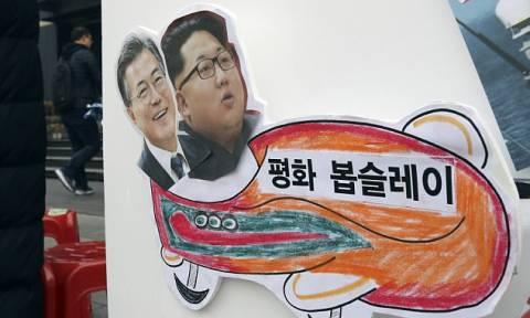 Αυτή είναι η έκπληξη που ετοιμάζουν Βόρεια και Νότια Κορέα για τους Χειμερινούς Ολυμπιακούς Αγώνες