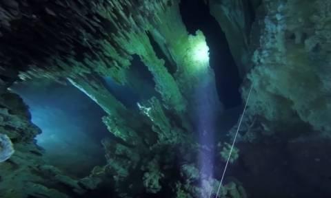 Εικόνες σπάνιας ομορφιάς: Ανακαλύφθηκε το μεγαλύτερο δίκτυο λιμναίων σπηλαίων στον πλανήτη