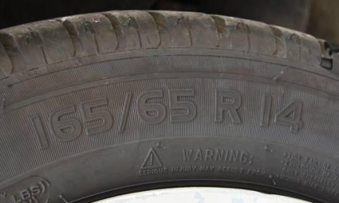 Ξέρεις τι σημαίνουν όλα αυτά που γράφουν επάνω τα ελαστικά του αυτοκινήτου σου; (photo)