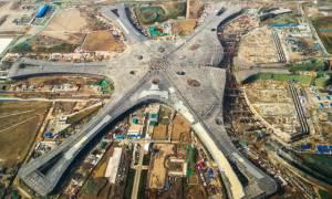 Κίνα: Αντίστροφη μέτρηση για το νέο διεθνές αεροδρόμιο του Πεκίνου (pic)