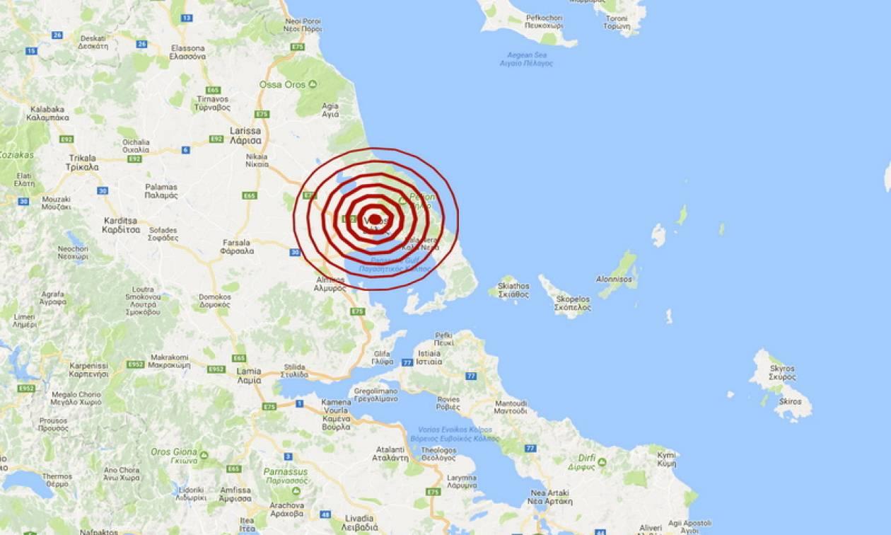 Σεισμός στο Βόλο - Ιδιαίτερα αισθητός σε πολλές περιοχές (pics)