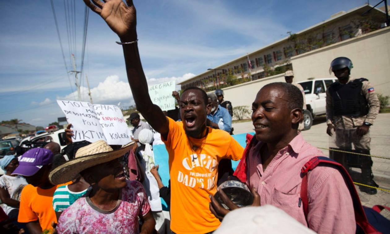 Αϊτή: Διαδήλωση κατά του Τραμπ για τις «χώρες απόπατους»
