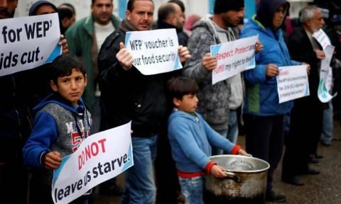 «Μπλόκο» από τις ΗΠΑ στη χορήγηση επισιτιστικής βοήθειας στους Παλαιστίνιους