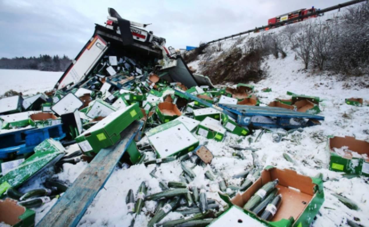Σαρώνει τα πάντα στο πέρασμά της η «Φρειδερίκη» - Νεκροί και εικόνες χάους στην Ευρώπη (pics+vid)
