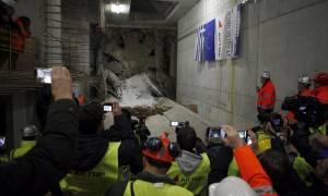 Θεσσαλονίκη - Μετρό: Έφτασε ο Μετροπόντικας στην Καλαμαριά (pics)