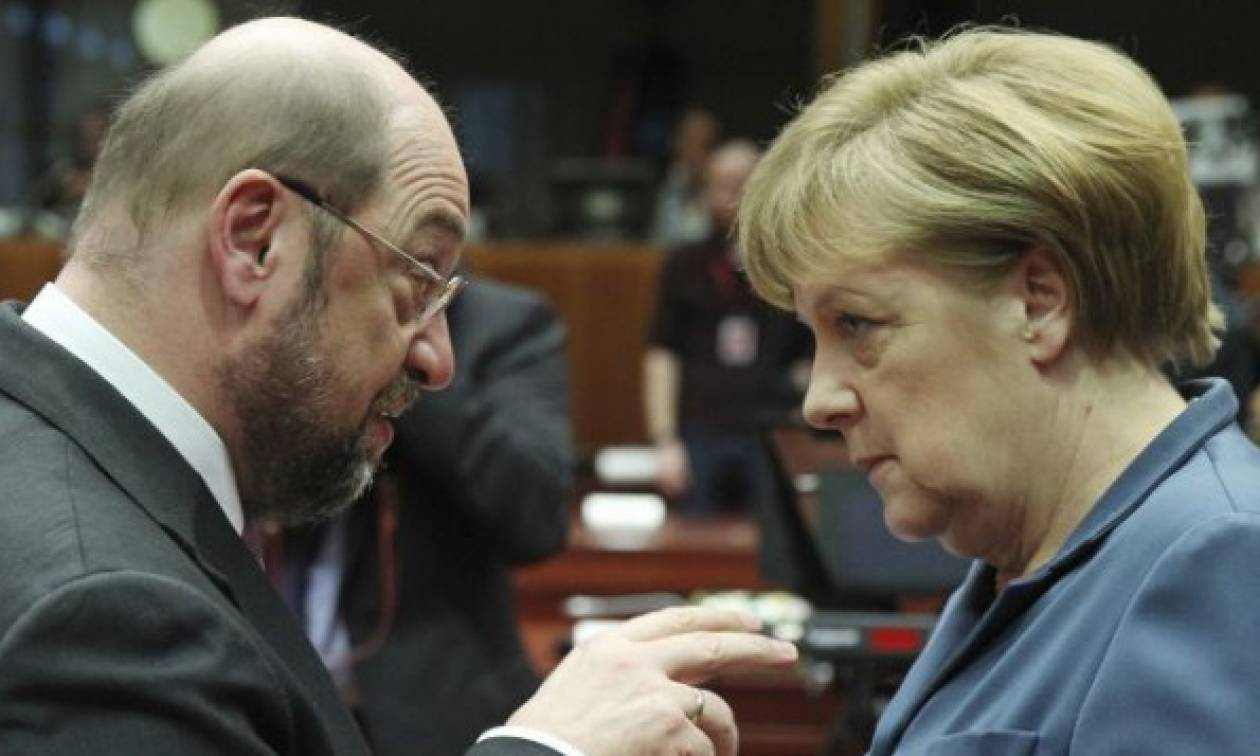 Γερμανία: «Επανάσταση» του SPD κατά της συγκυβέρνησης με τη Μέρκελ