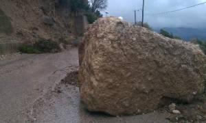 Κλειστή παραμένει η παλαιά οδός Κοζάνης-Ιωαννίνων – Πότε ξεκινούν οι εργασίες καθαρισμού