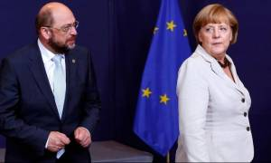 Με στραμμένο το βλέμμα στη Γερμανία – «Τελευταίο χαρτί» για Μέρκελ και Σουλτς