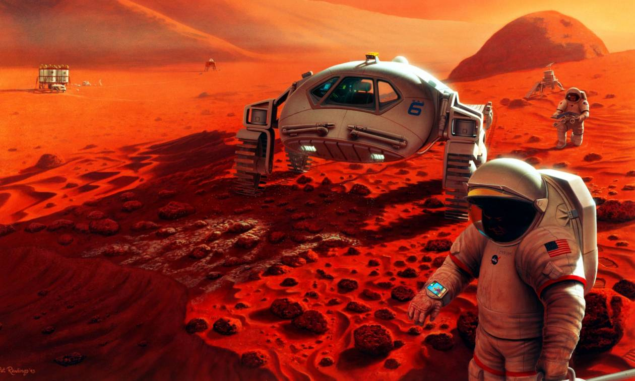 Όλα όσα θέλετε να γνωρίζετε για την πρώτη επανδρωμένη αποστολή στον πλανήτη Άρη (Pics+Vids)