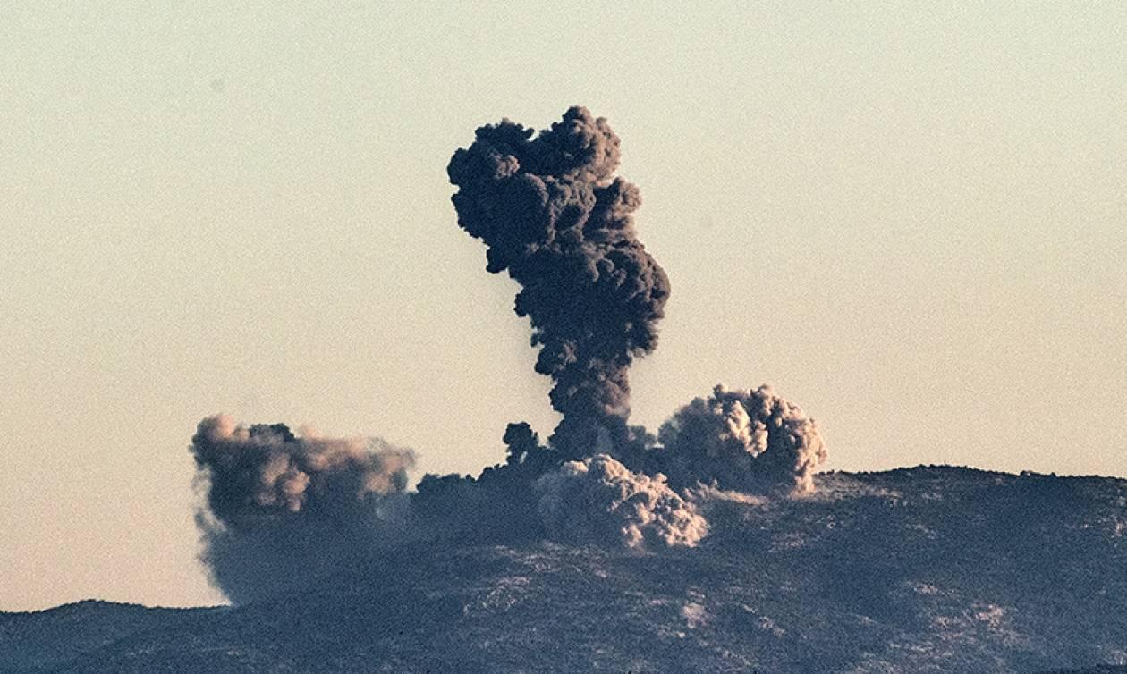 Βομβαρδισμός δίχως έλεος: Τουρκικά μαχητικά έπληξαν 45 στόχους στο Αφρίν