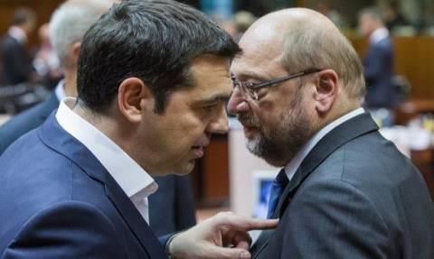 Τσίπρας σε Σουλτς: Ελπίδα για την Ελλάδα το πρόγραμμά σας