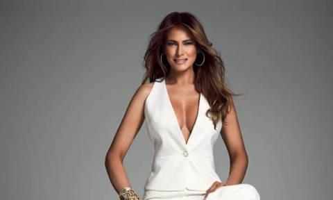 Η Melania Trump γιορτάζει έναν χρόνο ως Πρώτη Κυρία, όμως η φωτογραφία της διχάζει